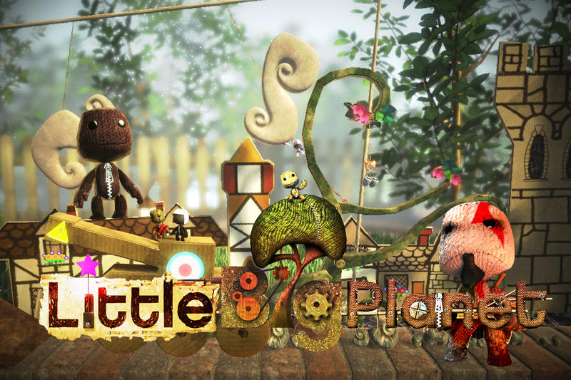 """LittleBigPlanet"" concept art by Francis 