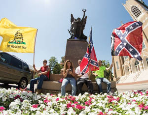 Confederate Rally in support of what we hold dear