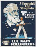 Lee Navy Recruitment Poster