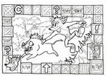 Crash Bandicoot - Hog Wild - Lineart