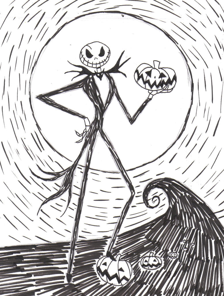 The Pumpkin King by azukyle7