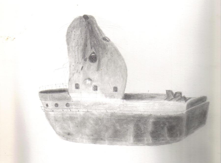 Sealboat by azukyle7