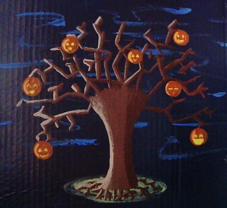 The Halloween Tree by azukyle7