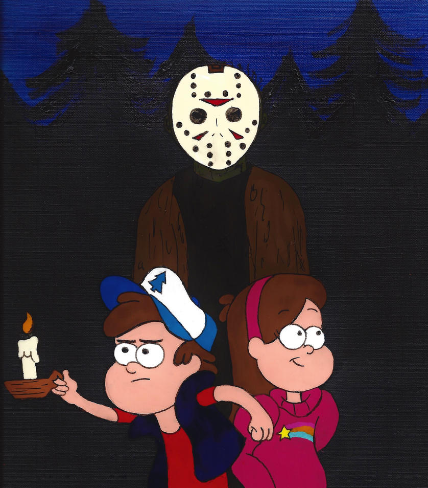 Friday the 13th (in Gravity Falls!) by azukyle7