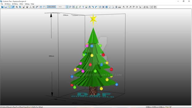 Cristimas Tree Papercraft