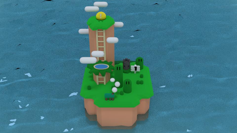 Super Mario World: World 1 by ARX-DM