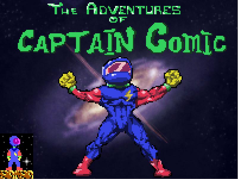 Pixel Art Time: Captain Comic by ARX-DM