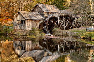 Mabry Mill by M-Lewis