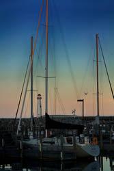 Mackinac Sunset I