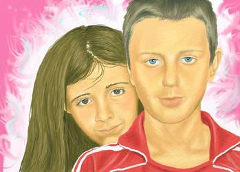 Alisha and kieran by cherrisec