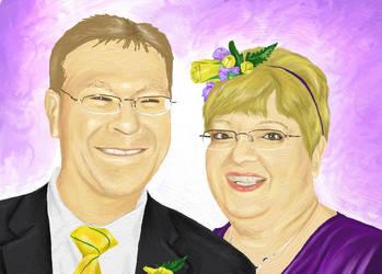 Karen and Micheal Wedding by cherrisec