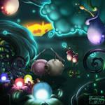 Synthetic Eden - Moodboard nr 1 by ArtByEmz