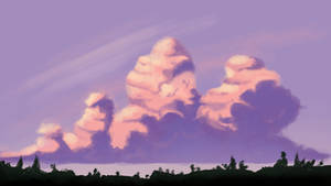 Lavender Sky - Tutorial Result