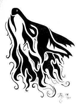wolfs head tribal 2