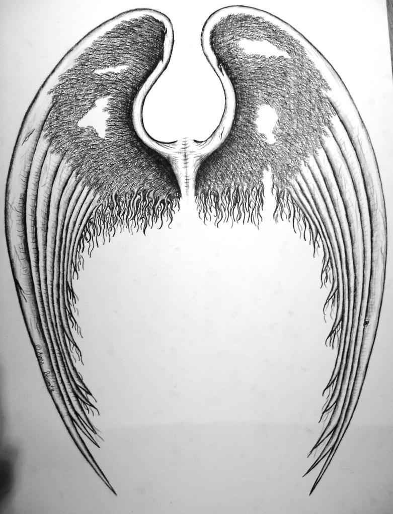 wings design 2 - fallen angel by SwarzezTier