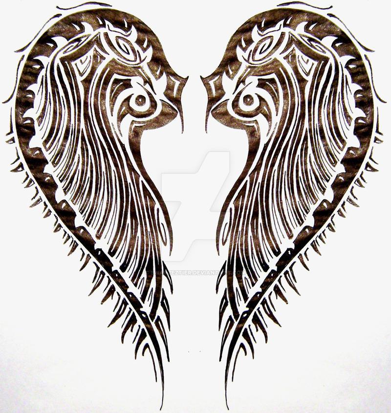 tribal wings by SwarzezTier