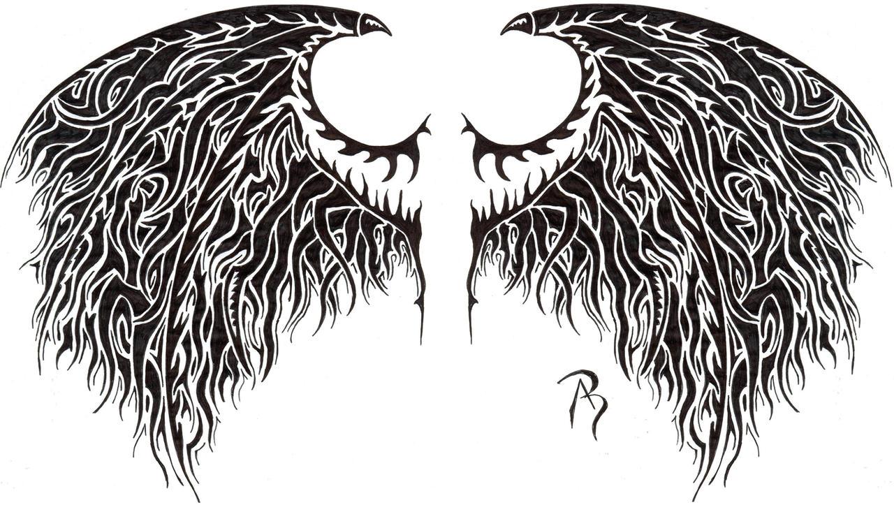 angel daemon wings by swarzeztier on deviantart. Black Bedroom Furniture Sets. Home Design Ideas