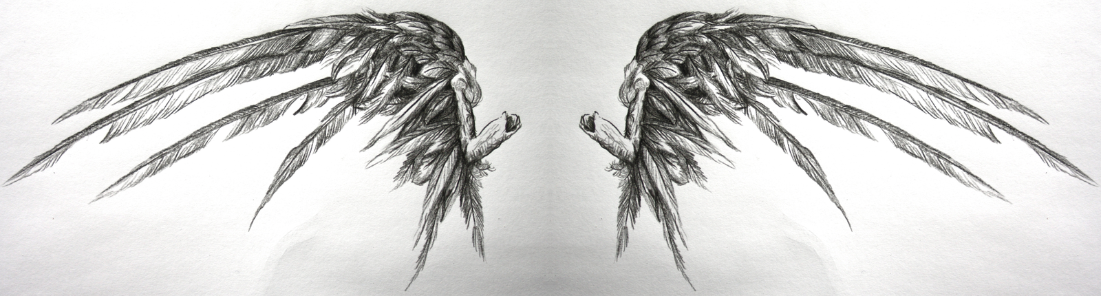Gothic Fallen Angel Wings Tattoo PicturesFallen Angels Wings
