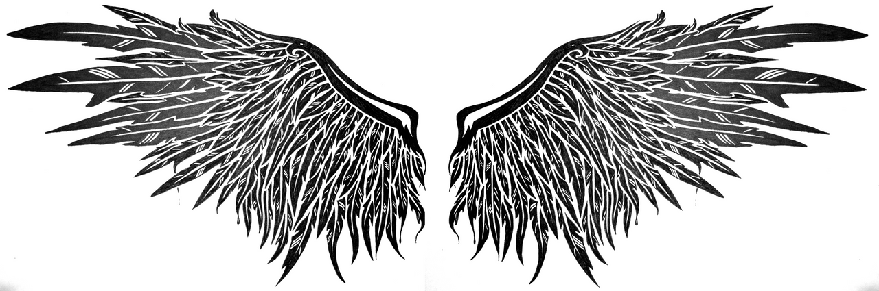 dark angel wings by SwarzezTier on DeviantArt