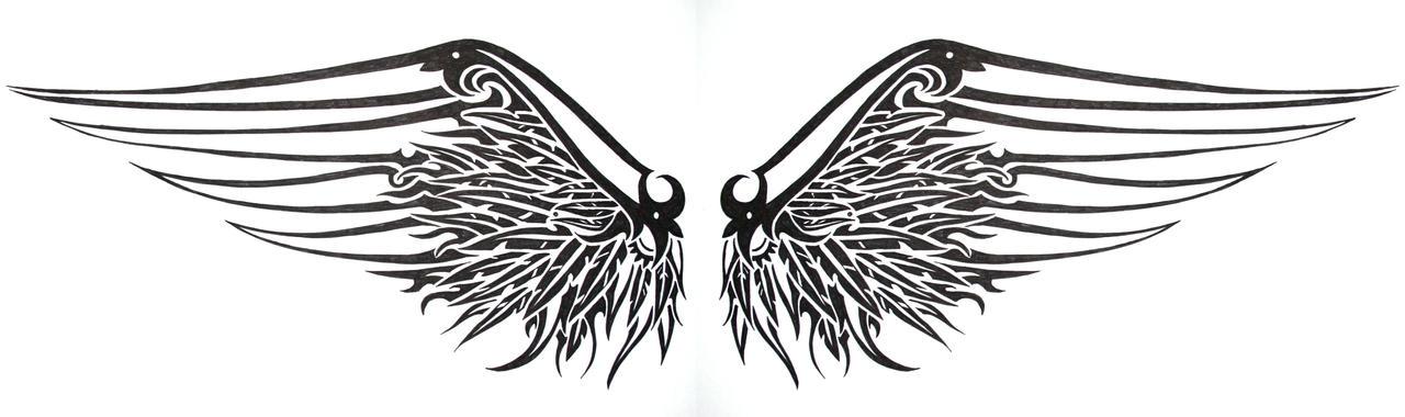 Gothic Designs gothic wingsswarzeztier on deviantart