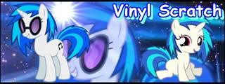 Vinyl Scratch Banner by CKittyKat98