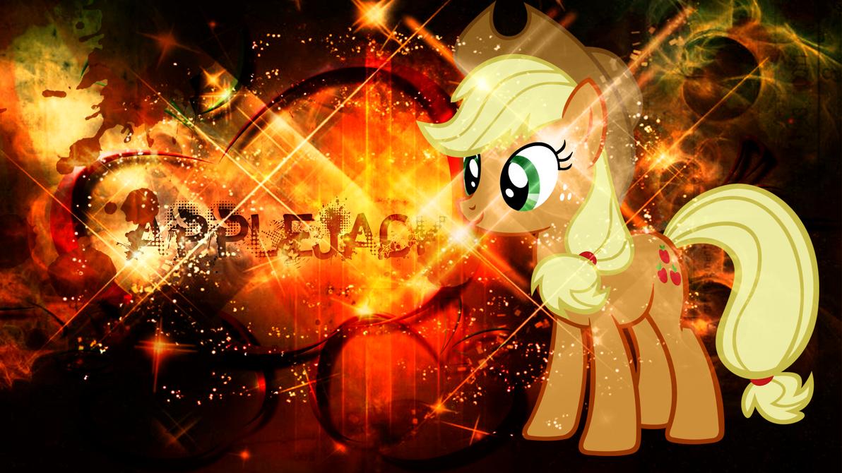 Applejack Wallpaper by CKittyKat98