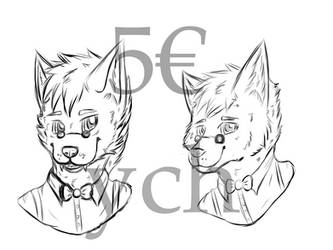 Your Character here (Ych) - Fancy Wolf by CKittyKat98