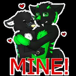 He is all mine by CKittyKat98
