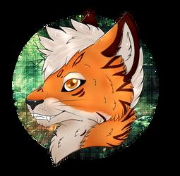 [Commission] OrangeStrippy by CKittyKat98