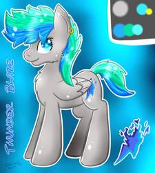 [Selling] My Ponysona Thunder Blaze by CKittyKat98