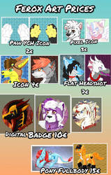 Pricesheet Commissions 2018 by CKittyKat98