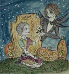 Carol and Daryl Halloween by nymeriadire