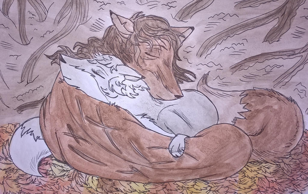 caryl Foxes by nymeriadire
