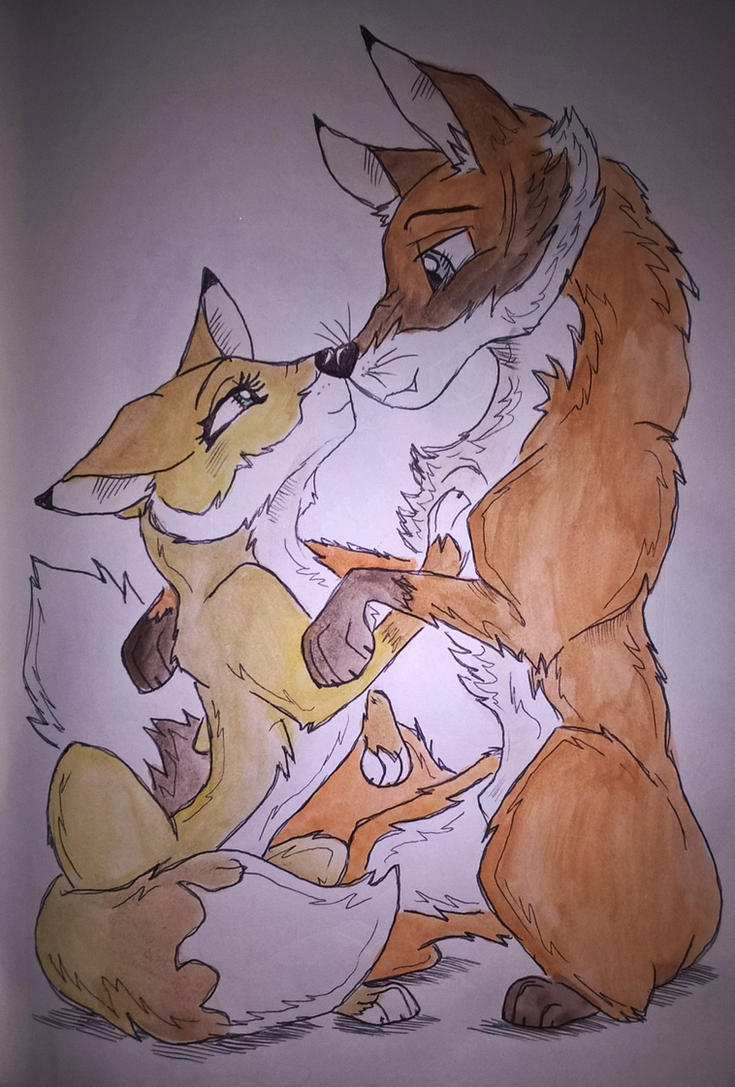 Fox Love by nymeriadire