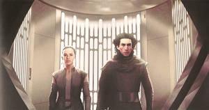 Kylo Ren and Rey (The Last Jedi)
