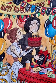 Happy Birthday Ben Solo