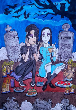 Picnic at the Cemetery