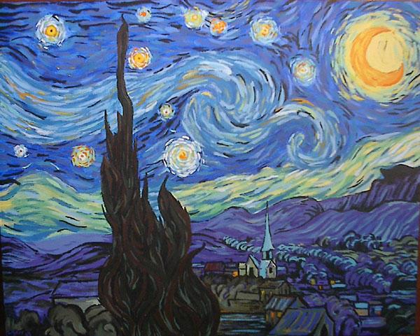 Starry Night Copy by ivan