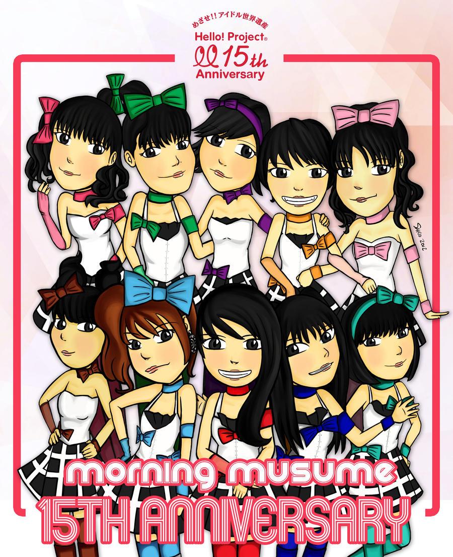 Morning Musume 15th Anniversary by Aosawa