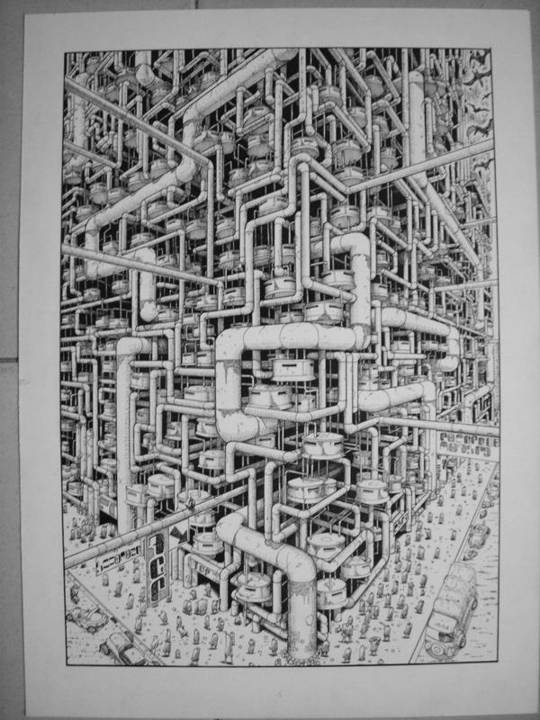 Cyber city by puntotu