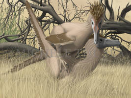 velociraptor mongoliensis mating season by puntotu