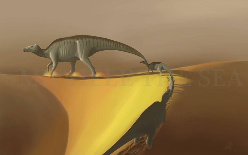 Huaxiaosaurus aigahtens by puntotu