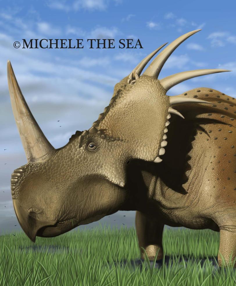 Styracosaurus by puntotu