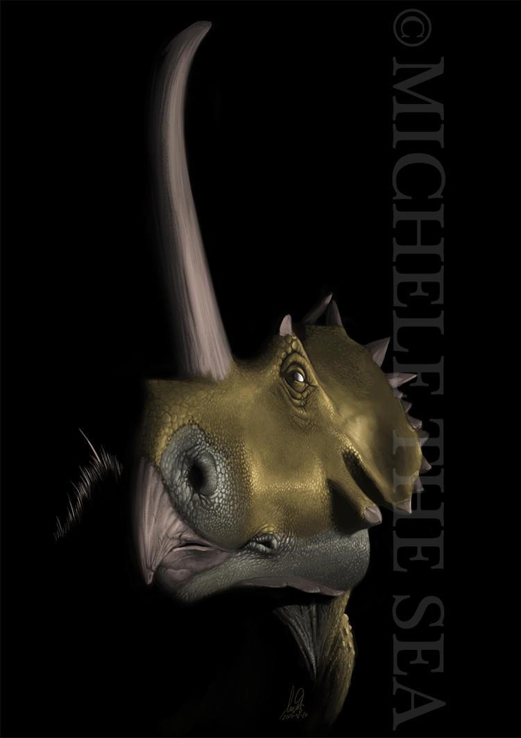 Rubeosaurus ovatus by puntotu