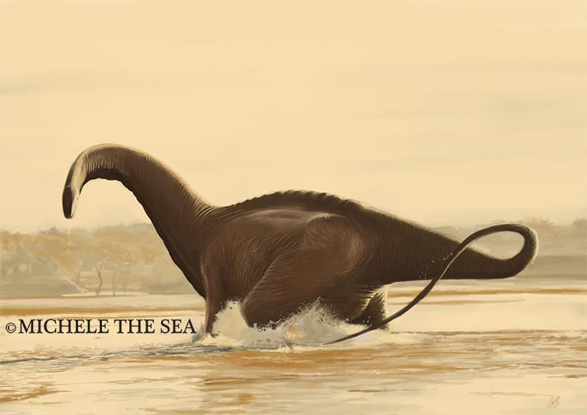 Brontosaurus by puntotu