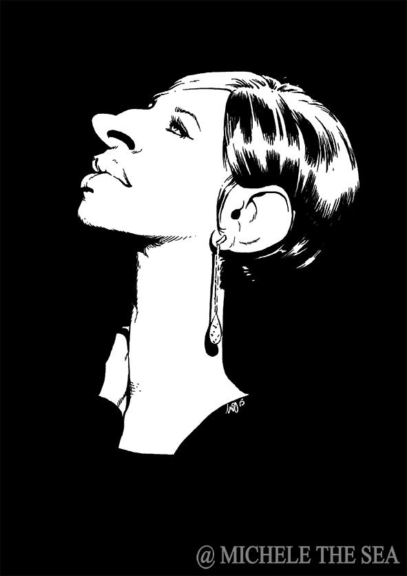 Barbara Streisand by puntotu