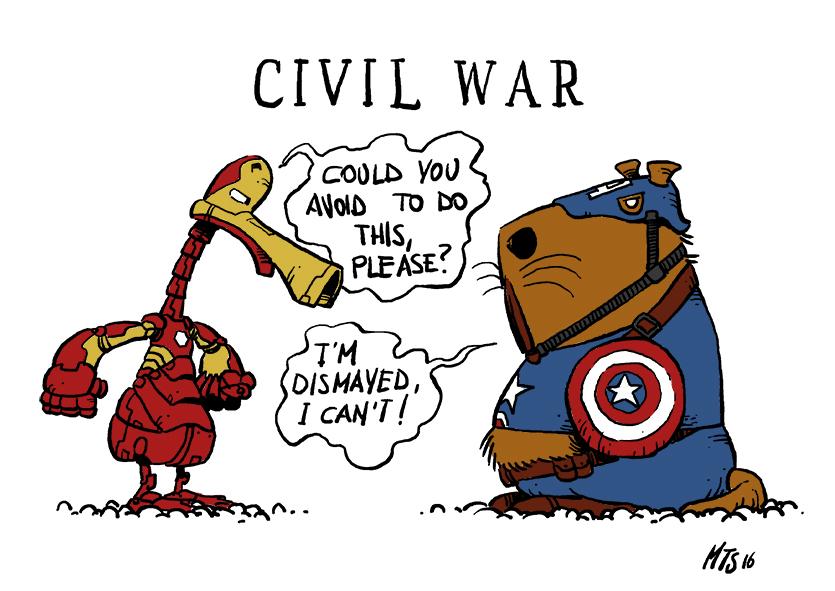 Civil war by puntotu