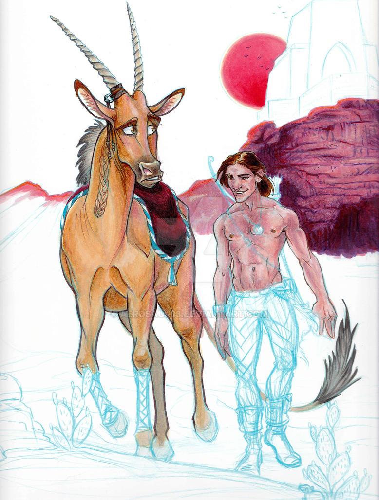 Ronan and Gelvin WIP by Aerosaur83