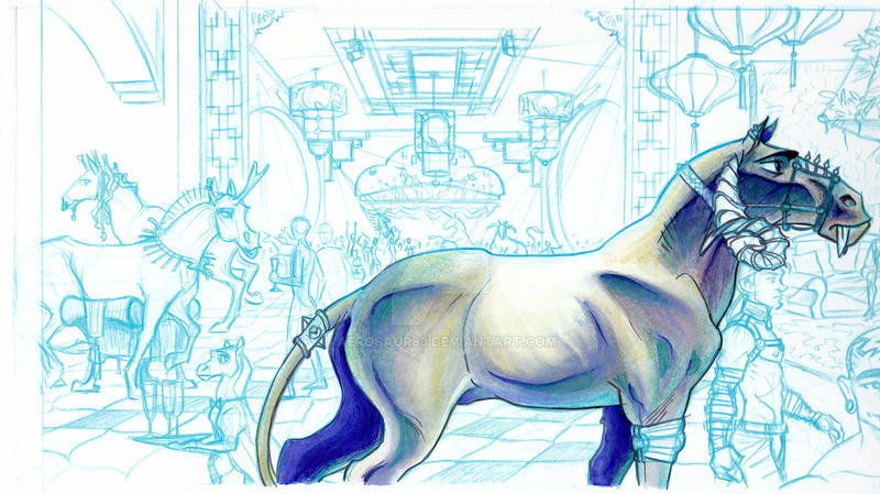 Unicorns Rave Interior by Aerosaur83