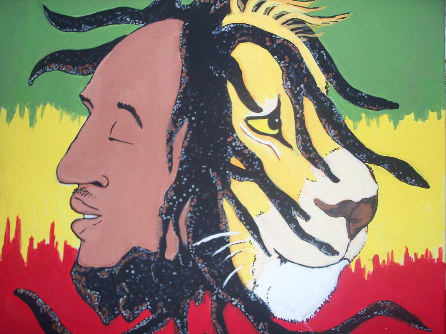 Bob Marley Paintings Artists